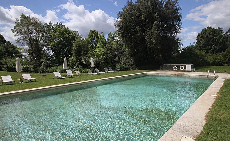 colledivaldelsa hotel 4 stelle relais della rovere piscina