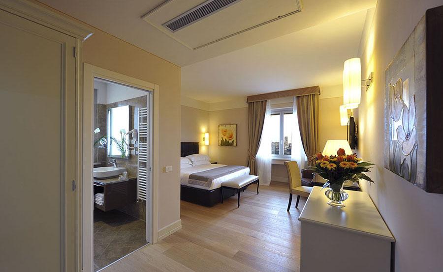 colledivaldelsa hotel palazzo san lorenzo soggiorno benessere toscana camera