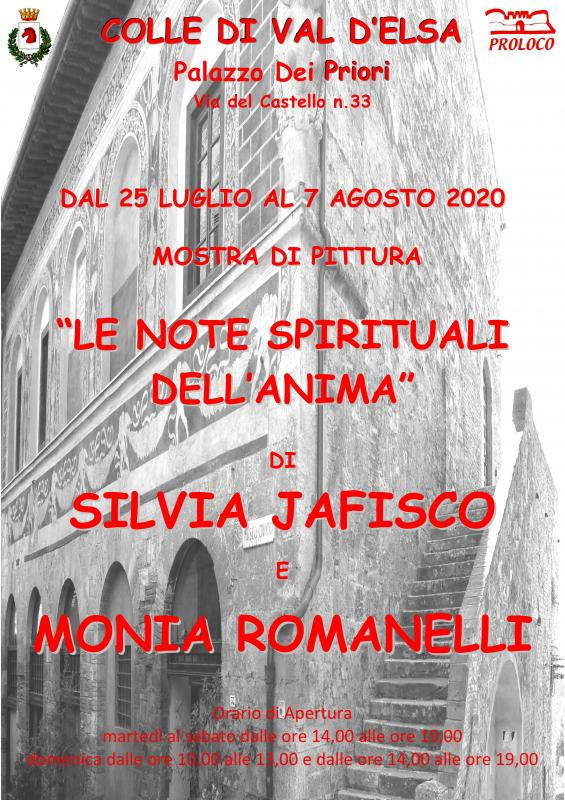 "Mostra ""LE NOTE SPIRITUALI DELL'ANIMA"""